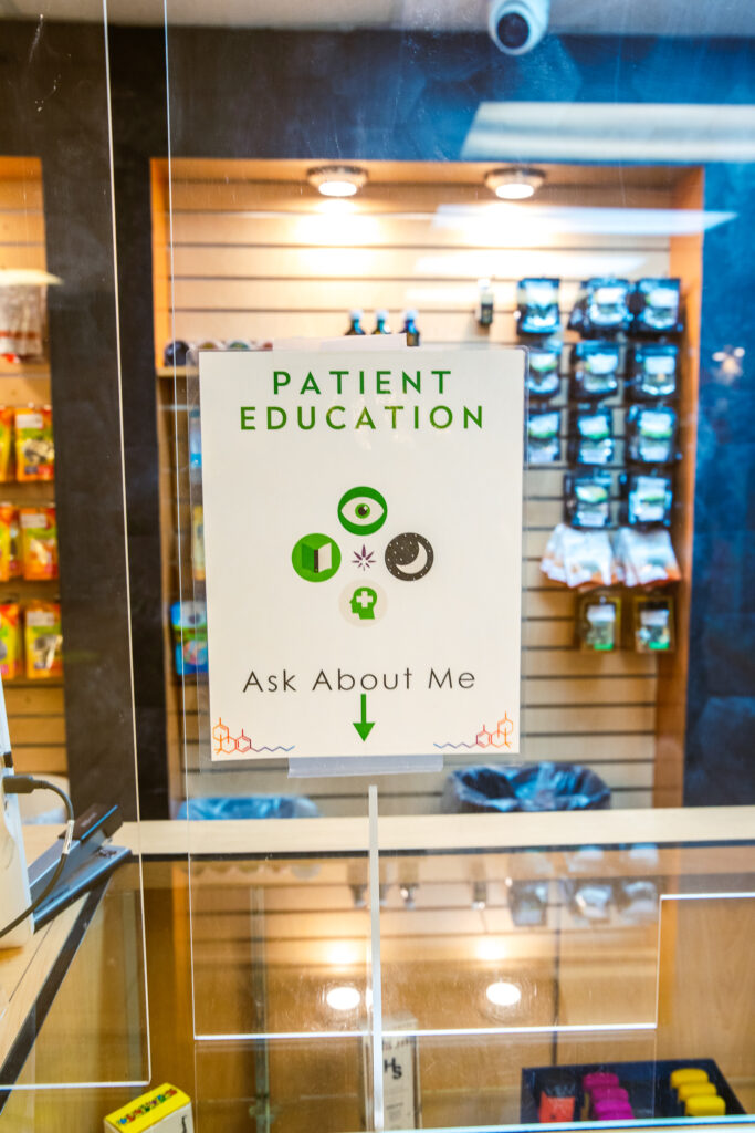 Ask Your Budtender about Patient Education